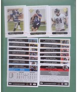 2005 Topps Baltimore Ravens Football Set  - $4.00
