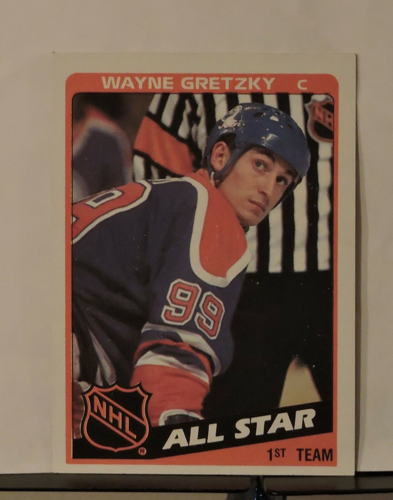 Primary image for 1984 Topps Wayne Gretzky #154 Hockey Card