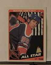 1984 Topps Wayne Gretzky #154 Hockey Card - $1.98