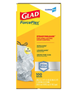 NEW Glad ForceFlex 100 Count Tall Kitchen Drawstring Bags 13Gal CloroxPro - $18.90