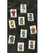 Creative Circle Cross Stitch 10 Children of the World Xmas Ornaments Kit... - $13.99