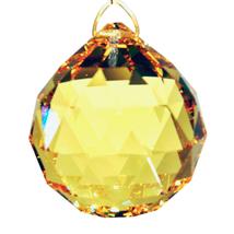 Swarovski 20mm Crystal Faceted Ball Prism image 6