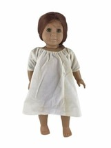 """Vintage Pleasant Company American Girl Felicity 18"""" Doll Brown Body Tagged Gown - $70.08"""