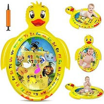 Tummy Time Baby Water Mat Infant Inflatable Play Mat for 3 6 9 Months Newborn Bo