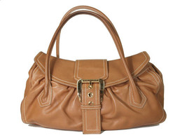 Authentic CELINE Brown Leather Shoulder Bag CS9071L - $139.00