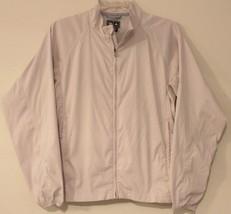 Adidas Climaproof Wind 3-STRIPE - Ivory Zip-Up Jacket - Women'S Size: S/P - $51.55