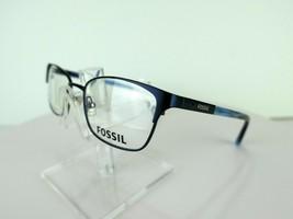 Fossil FOS 6048 (DA4) Navy 52 X 17 135 mm Eyeglass Frames Eyewear - $47.96