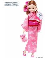 Licca chan Doll YUKATA Tokyo Olympic Pink YUKATA Official TAKARA TOMY Li... - $54.45