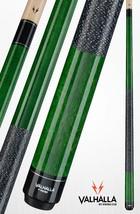 Green VA115 Valhalla Viking Billiard Pool Cue Stick With Pro Taper + Linen Wrap - $71.49+