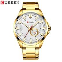 CURREN Business Watch for Men  Watch Men's  Stainless Steel Wristwatch Relogio M - $50.50