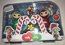 Fingerlings Christmas Holiday 2 Pack - Holly Jolly & Merry New 40+ sound... - $23.36