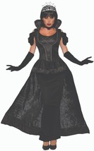Forum Novelties Royal Dark Queen Womens Adult Evil Ruler Halloween Costu... - $66.84