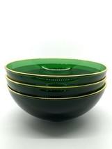 VMC Emeraude 20k Gold  Fruit Bowls-Set Of 3 - $17.77