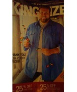 KING SIZE MEN'S CLOTHING (CHRISTMAS 2019) Mail-order CATALOG 111 Pages! - $4.46