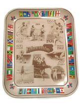 Coca-Cola Commemorative Tray Commonwealth Games Edmonton  Issued 1978 - $19.31