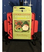 Christmas - Winter Cookie Cutter Plaque Nordic Ware  8 Shapes In One Cut... - $8.99