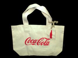 Coca-Cola Light Canvas Bag Tote Natural Set of 2 - BRAND NEW - $10.40