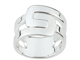 Ring Cacharel simples  (CAR243), Sterling Silver 0,925 - $41.58