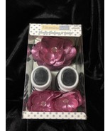 Vitamins Baby SIZE 0-12 MONTHS HEADWRAP AND BOOTIE SET Pink Black White ... - $9.49