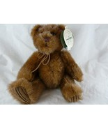 """First and Main Hand Crafted Plush Teddy Bear Minky 8"""" Sitting - $19.79"""