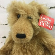 Gund plush bell #2495 Gold Brown Bear Bean filled Collectible with - $39.58