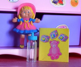 Barbie Little kelly Rag Doll Book Toys fits Fisher Price Loving Family Dollhouse - $10.99