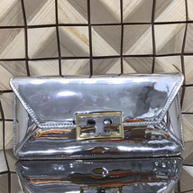 Tory Burch Gigi Metallic Clutch - $250.00