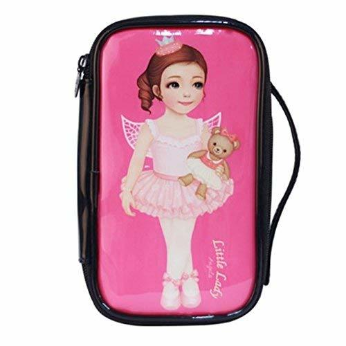 Fashion Waterproof Travel Makeup Case Cosmetic Bag Sundry/Toiletry, Ballet Girl