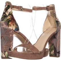 Nine West Dempsey Bride Cheville Robe Sandales 628, Taupe Multi / Nature... - $74.39