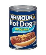 Armour Hot Dog Chili Sauce, Original, 14 Oz, (6 Cans Included) - $23.00