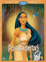 Pocahontas Disney DVD + Blu-ray + Digital HD NEW - $38.78