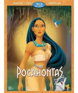 Pocahontas Disney DVD + Blu-ray + Digital HD NEW - $28.98
