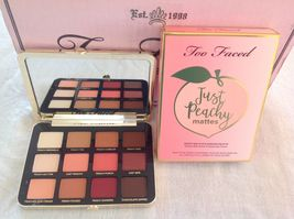 100% Authentic Too Faced Just Peachy Mattes Palette,New Collection & New In Box - $52.00
