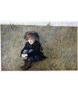 Andrew Wyeth Gravure Print FARAWAY, The Walk - $15.84