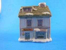 NIB Dickens Village Bakery Bell Lite Mini Tree Light cover Bisque Porcelain - $3.46