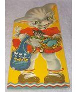 Vintage Fluffy Kitten by Margot Voigt Lowe Publishing Children's Book 1941 - $7.95