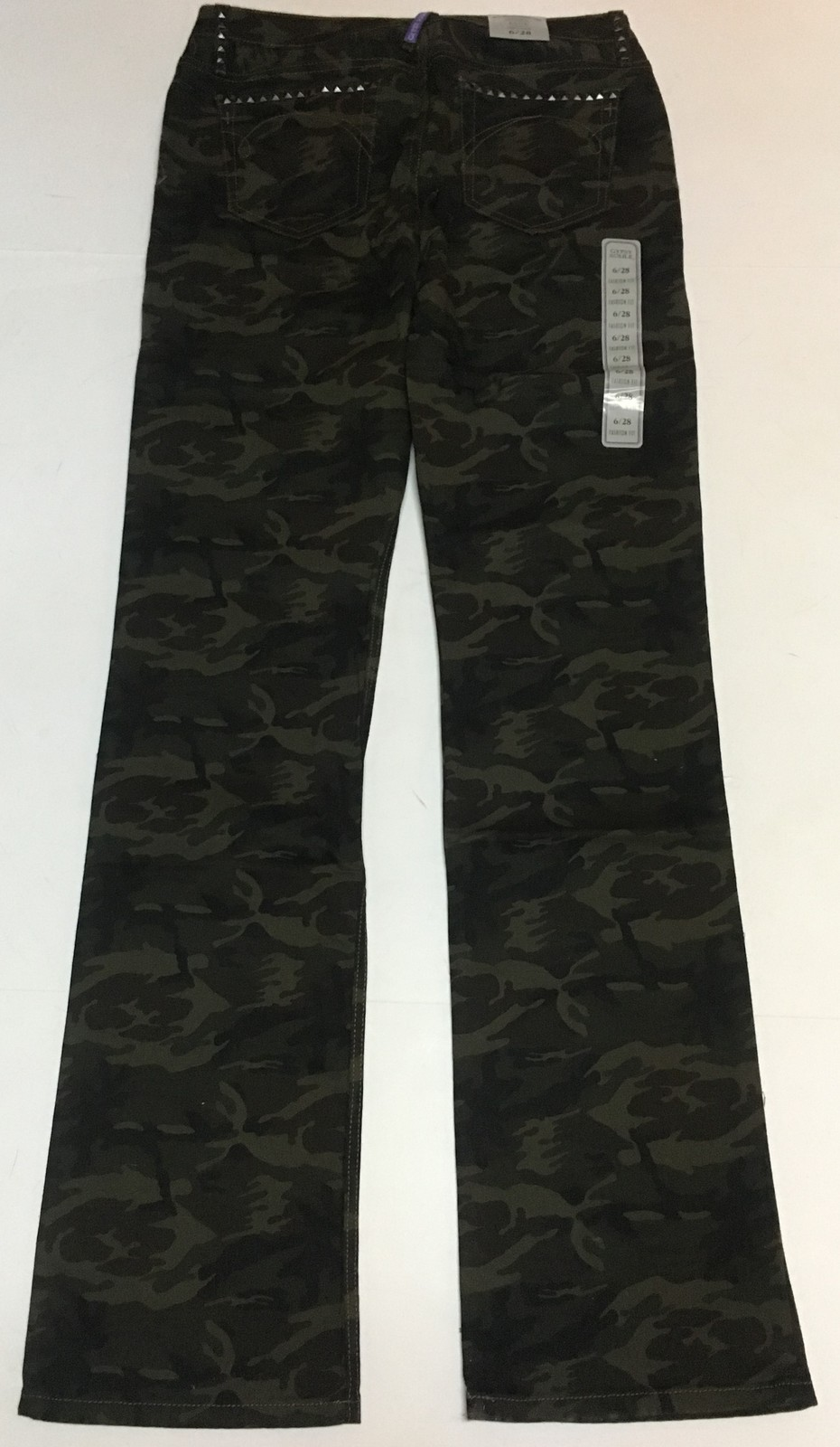 Gypsy Soule Camouflage Pants Jane Sz 6/28 NWT image 7