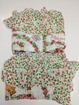 "Vintage Strawberry Shortcake 2 Curtain Panels JC Penney Excellent 42"" x ... - $42.65"