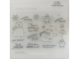 Close to My Heart Got Snow? Clear Acrylic Stamp Set #C1764 image 1