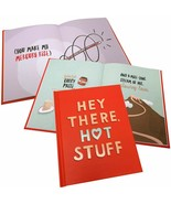 """Hey There, Hot Stuff by Ruth Austin 5.25"""" x 6.75"""" Cover With Typography ... - $7.91"""
