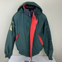 Vintage Nautica Jacket J Class Challenge Windbreaker Sailing Competition... - $89.99