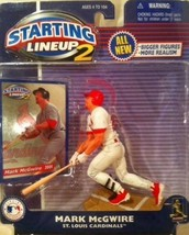 Mark McGwire St. Louis Cardinals MLB Starting Lineup 2 action figure NIB... - $13.36