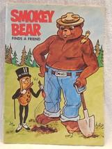 Vintage 1970's Planters Peanut Mr Peanut Smokey Bear Whitman Coloring Book - $11.95