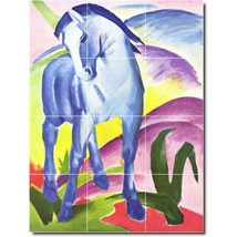 Franz Marc Horses Painting Tile Murals BZ05706. Kitchen Backsplash Bathroom Show - $120.00+