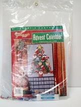 Needlecraft shop ADVENT CALENDAR Christmas Tree #400216 Kit w/ Ornaments... - $32.66