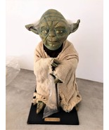 Star Wars Vintage ILLUSIVE Life-size yoda figure 1/1 Limited 9500 with S... - $1,557.27