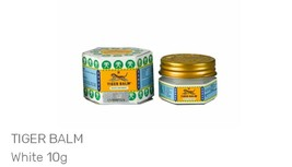 12 x 10g Tiger Balm White Ointment for massage,headache and muscle pain ... - $59.90