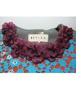 Betina Designer Ken Samudio Sweatshirt Flower Jewelry Runway Avant Garde... - $692.01