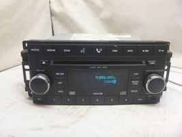 08-10 Dodge Jeep Chrysler Radio 6 Cd Changer Dvd Mp3 05064922AE FLD34 - $42.32
