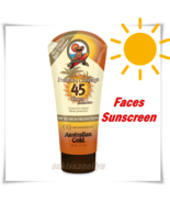 Australian Gold Sunscreen FACE Cream SPF 45 HIGH Protection Water Resist... - $31.19